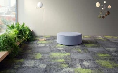 Milliken's new collection: Comfortable Concrete 2.0
