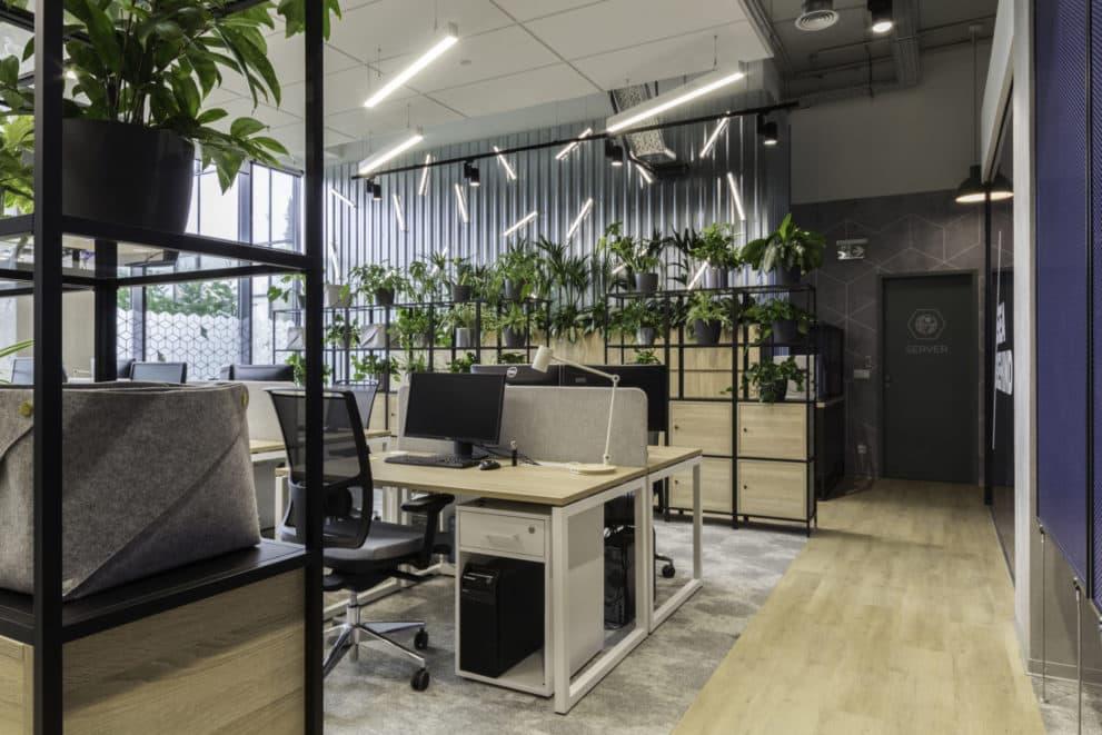 Légiesen modern – Balasys IT Office